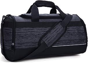 MIER Large Duffel Bag Men's Gym Bag with Shoe Compartment