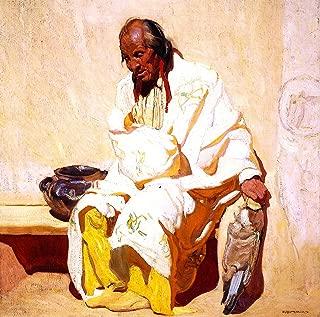 Ernest Leonard Blumenschein Old Man in White 1917 Private Collection 30