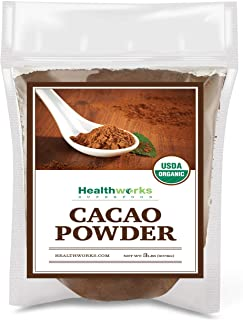 Healthworks Cacao Powder (48 Ounces / 3 Pounds) | Cocoa Chocolate Substitute | Certified Organic | Sugar-Free, Keto, Vegan...