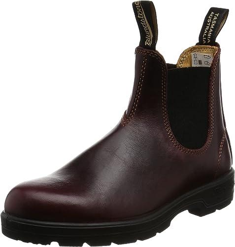 azulndstone zapatos 1440 Botines de Cuero rojowood mujer