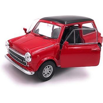 39 Blanc Welly Mini Cooper 1300 Mod/èle Auto Auto License Produit 1 34-1
