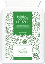 Kula Nutrition Herbal Colon Cleanse – Aloe Vera Sugar Beet Fiber – 100 High Strength Capsules – Daily Bowel Function – Improves Digestion Body Detox – 11 Plant Extracts – Made in The UK – Non-GMO Estimated Price : £ 17,97