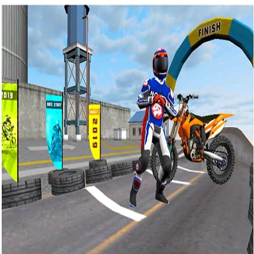 Mega Ramp Impossible Stunts Bike Racing Simulator: Juegos de carreras de bicicletas 2020