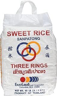 (10 Lbs) Thai Sticky Rice (Sweet Rice)
