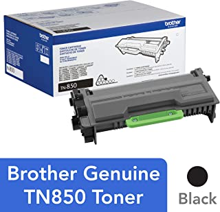 Brother Genuine High Yield Toner Cartridge, TN850, Replacement Black Toner, Page Yield Up To 8, 000 Pages, Amazon Dash Rep...
