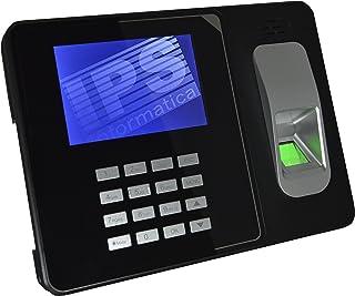 RILEVATORE PRESENZE CON IMPRONTA DIGITALE E RFID - CERTIFICATO CE- MENU E SOFTWARE IN ITALIANO E NR. 10 BADGE OMAGGIO - GA...