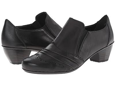 Rieker 41730 (Black Cristallo/Black Fino) Women