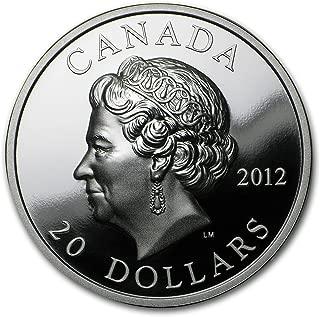 canada 2012 $20 silver coin