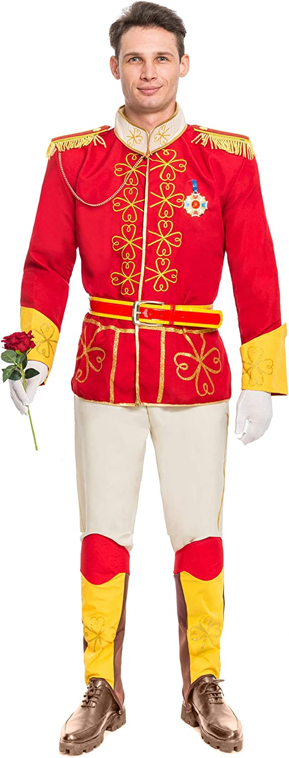 Max 84% OFF Spooktacular Creations Men's Prince Costume Charming Adult It is very popular