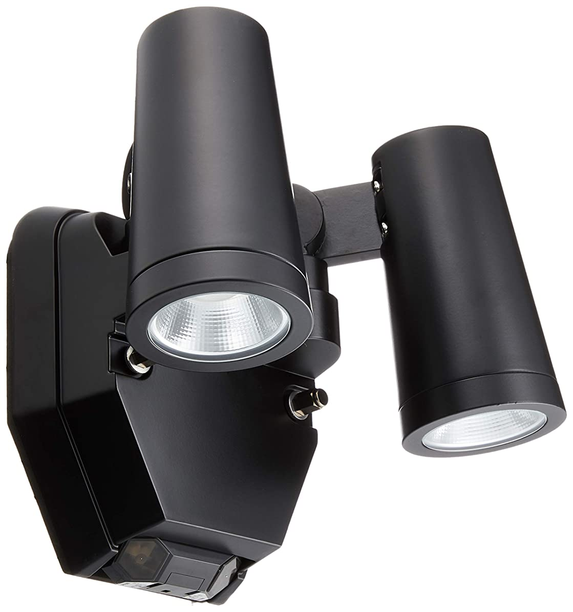 幻影歯科の苦大光電機(DAIKO) LED人感センサー付アウトドアスポット (LED内蔵) LED 12.1W 電球色 2700K DOL-4670YB