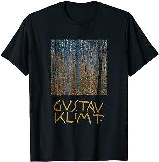 Beech Forest by Gustav Klimt, Art Nouveau T-Shirt