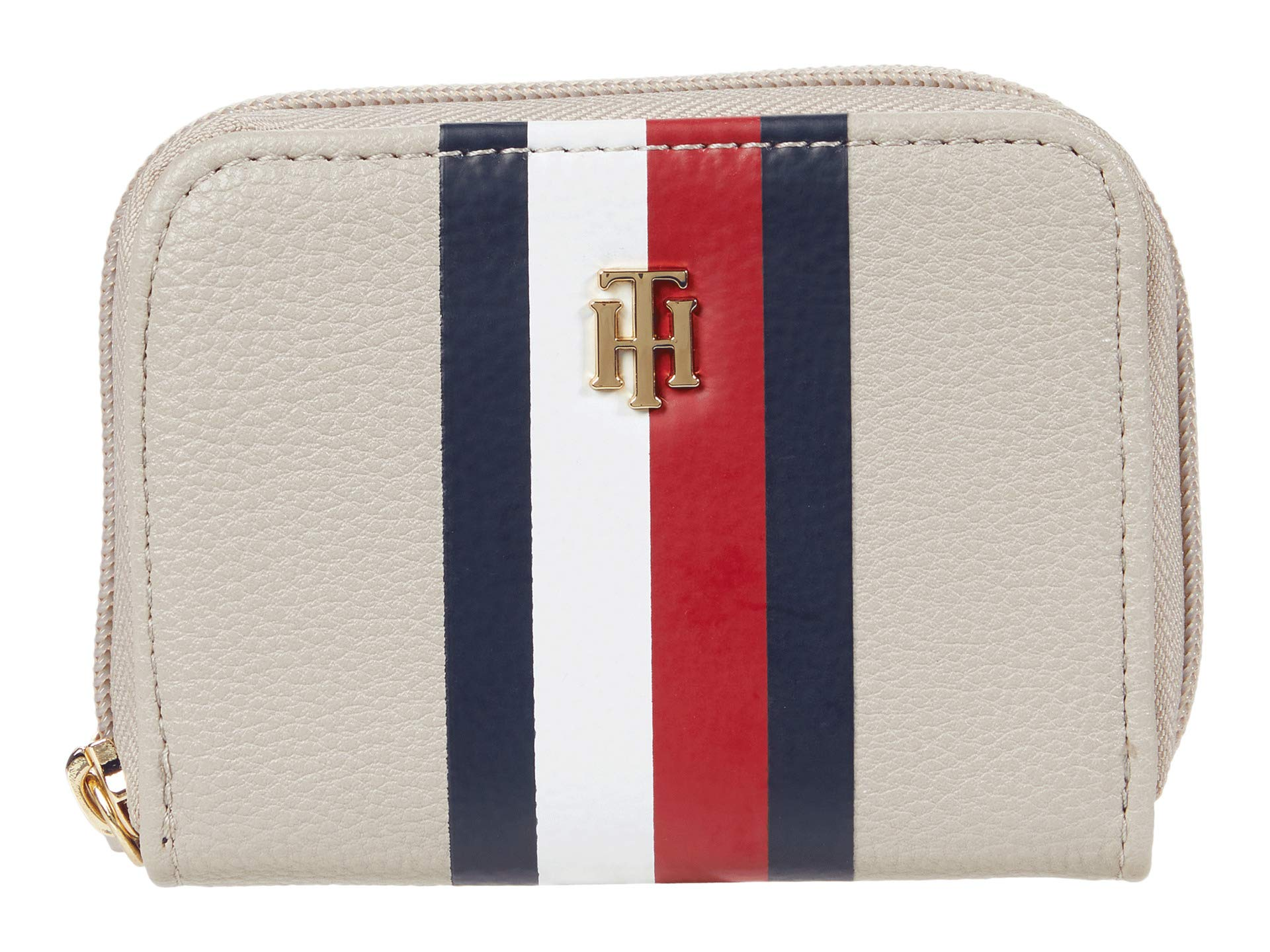 Tommy Hilfiger Tommy Hilfiger Signature - Pebble PVC Small Zip Around Wallet