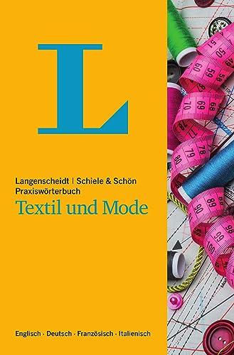 Books By Schiele Schoen_langenscheidt Praxiswoerterbuch Textil Und ...