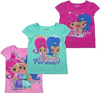 Nickelodeon Girls and Toddlers 3-Pack T-Shirts: JoJo Siwa and Paw Patrol