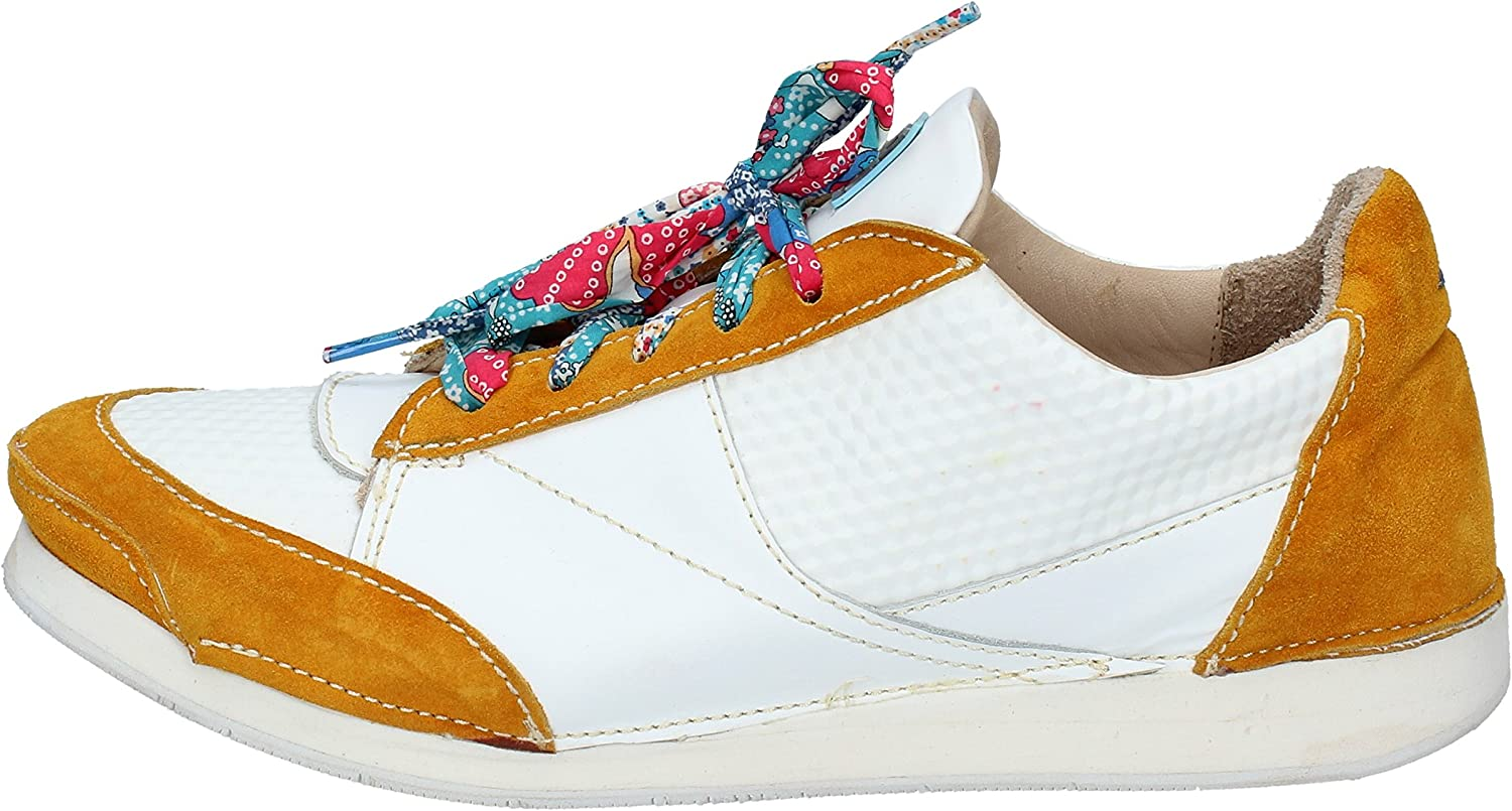 MOMA Fashion-Sneakers Womens Leather White