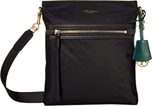 Tory Burch Women's Perry Black Nylon Swingpack Messenger Bag