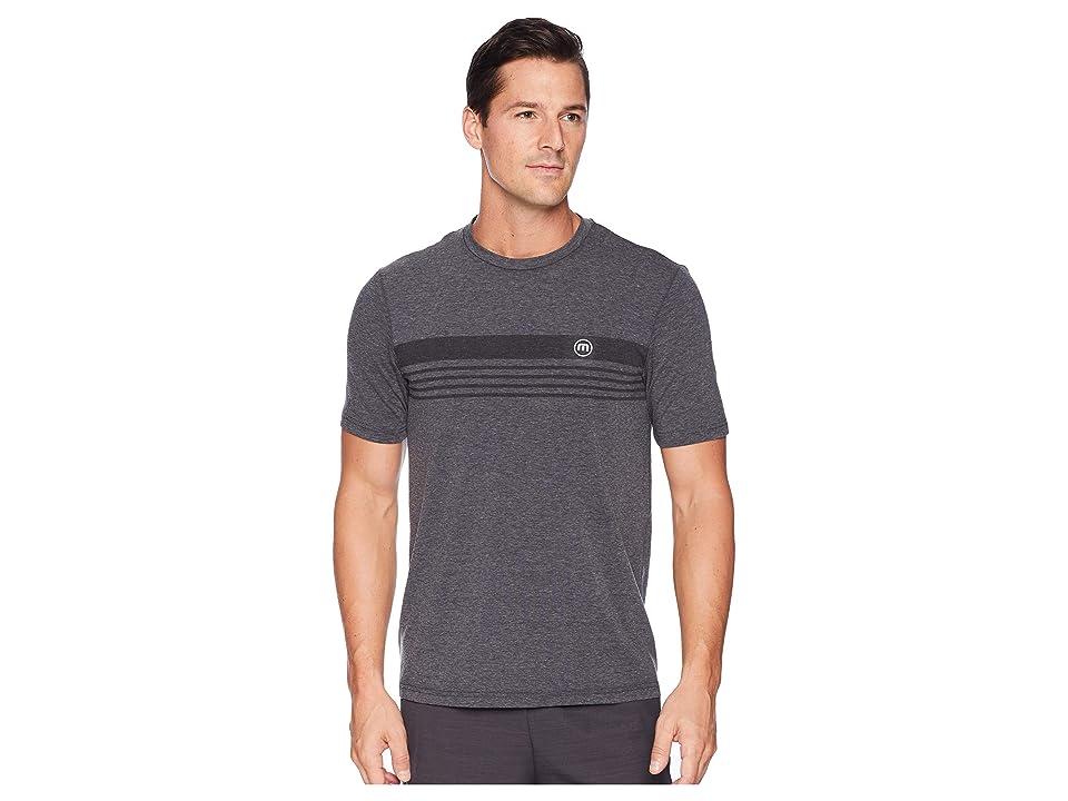TravisMathew Recline T-Shirt (Heather Magnet) Men