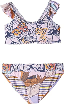 Girly Samba Bikini (Toddler/Little Kids/Big Kids)