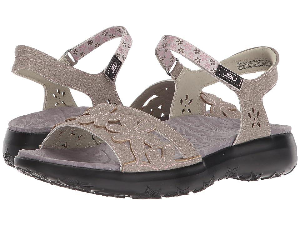 JBU Wildflower Sandal (Cement) Women
