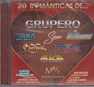 20 Romanticas De Grupero