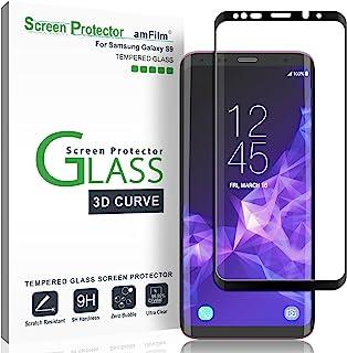 amFilm Galaxy S9 Protector de Pantalla, Cobertura Total (3D