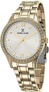 DANIEL KLEIN Premium Alloy Case Stainless Steel Band Ladies Wrist Watch - DK.1.12429-2
