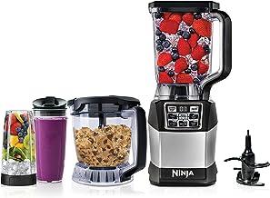 Ninja Blender and Food Processor System with 1200-Watt Auto-iQ Base, 72oz Pitcher, 40oz Blend & Prep Bowl, Dough Tool and ...
