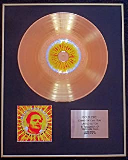 Herbert Grönemeyer - Exclusive Limited Edition 24 Carat Gold Disc - Cosmic Chaos