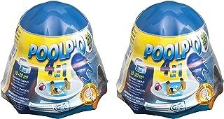 Gre 08013X2 - Pack de dosificador flotante para el mantenimiento del agua de la piscina de 10-20 m3, 1 kg