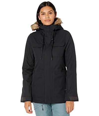 Volcom Snow Shadow Insulated Jacket (Black) Women