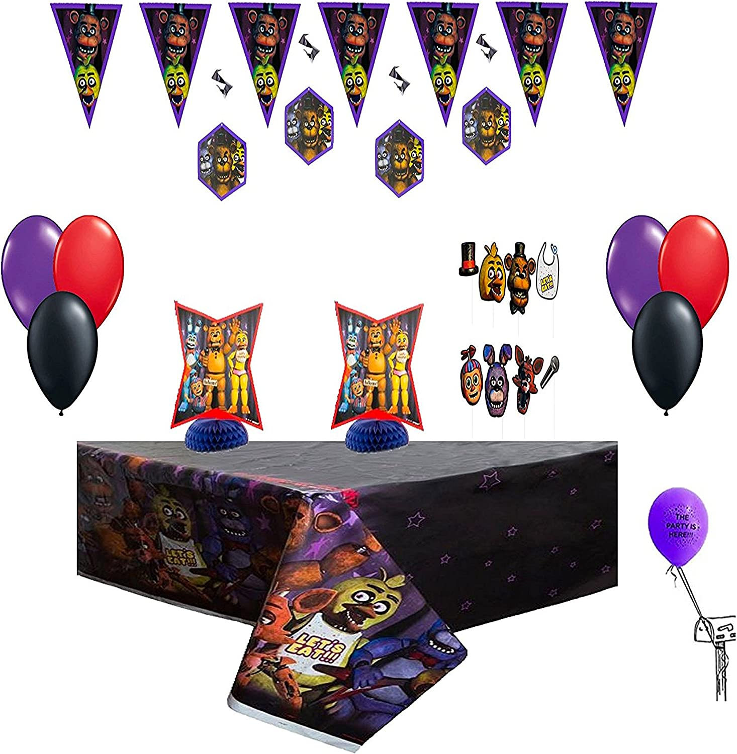 Five Nights At Freddys Ultimate Party Decorating Kit