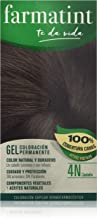 Farmatint Gel de Coloración Permanente 4N Castaño - 135 ml