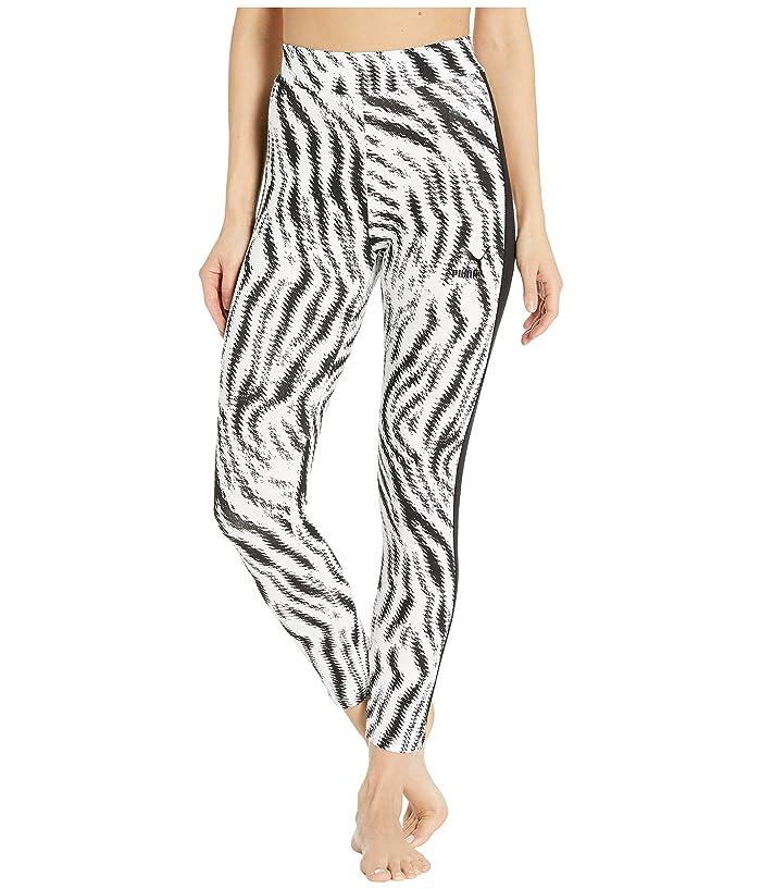 PUMA Wild Pack Leggings (Puma White/Zebra AOP) Women