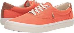 College Orange Washed Twill