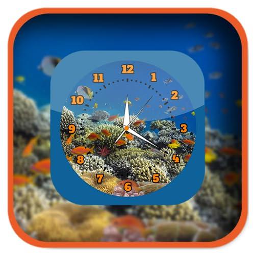 Aquarium Clock Live Wallpapers