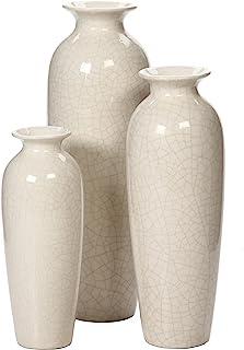 Amazon.com: Beige - Vases / Home Décor: Home & Kitchen on names of vases, wooden vases, kitchen vases, bulk mini vases, colored vases, vintage vases, bowl vases, handmade vases, traditional vases, engraved vases, sticks painted vases, yellow vases, big vases, carved vases, frost vases, mirror vases, art vases, engravable vases, decorative vases, gold vases,