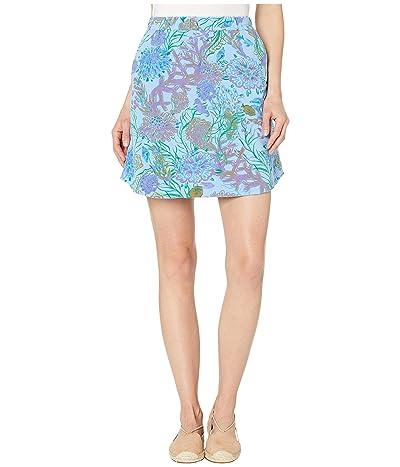 Fresh Produce Oceanscape Avery Skirt (Bayside Blue) Women