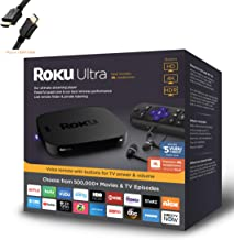 $129 » Roku Ultra 4K HDR Streaming Player with JBL Headphones - Holiday Family Bundle, Roku Voice Remote with TV Controls, HDMI, ...