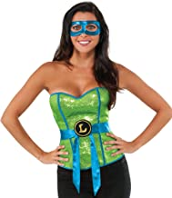 Rubie's Costume Co Women's Teenage Mutant Ninja Turtles Leonardo Corset
