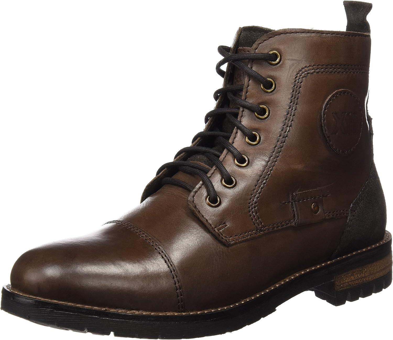 XTI Men's Botin Cro. Piel brown Oxfords