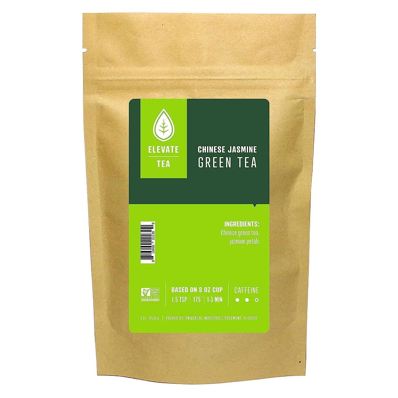 Elevate Tea Free Sale SALE% OFF shipping New Chinese Jasmine - Loose Medium Leaf Green C