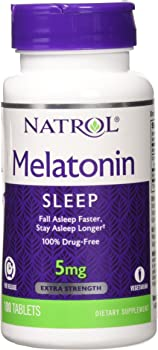 Melatonin 5mg Time Release - 100 - Tablet