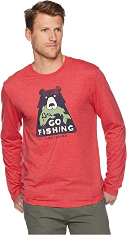 Let's Go Fishing Cool Long Sleeve T-Shirt