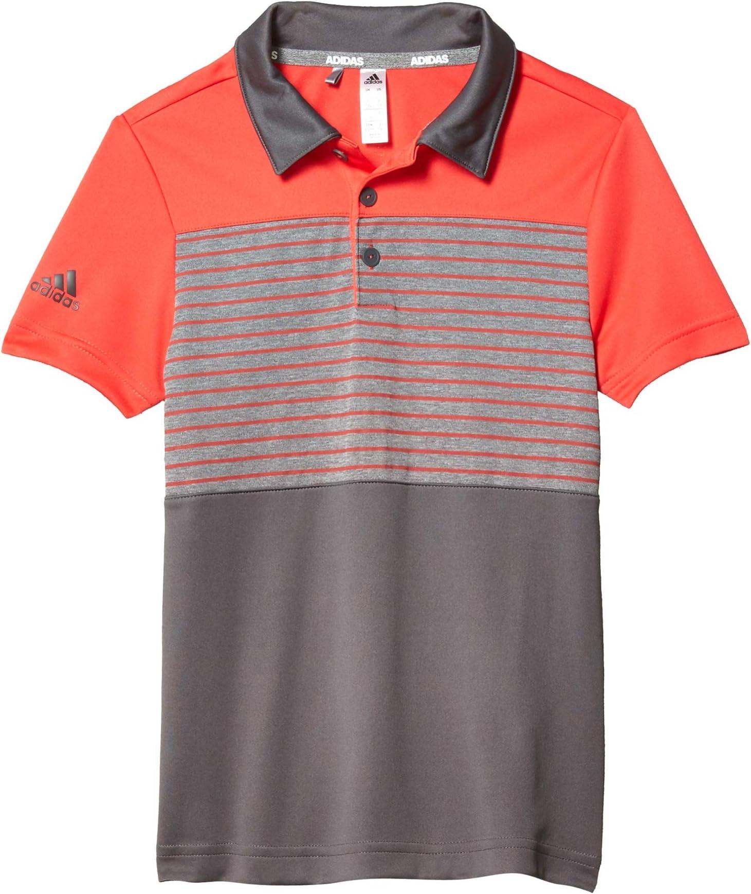 adidas Golf Kids Engineered Stripe Polo Shirt