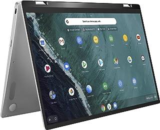"ASUS Chromebook Flip C434 2-In-1 Laptop, 14"" Full HD Touchscreen 4-Way NanoEdge, Intel Core M3-8100Y Processor, 4GB RAM, 6..."