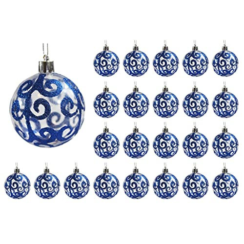 Navy Blue Christmas Ornaments Amazon Com