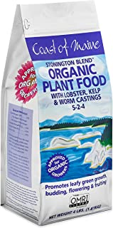 Coast of Maine Stonington Lobster & Kelp Plant Food, Organic Granular Fertilizer