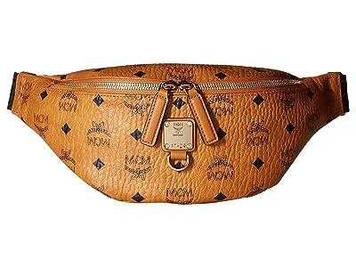 MCM Fursten Visetos Belt Bag Small (Cognac) Bags