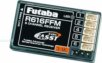 Futaba R616FFM 2.4GHz RX 6Ch FASST Micro Park Flyer