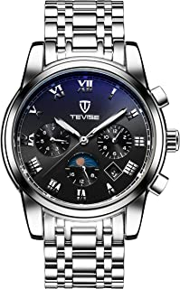 Tevise Casual Watch For Men Analog Stainless Steel - 9005G-SB